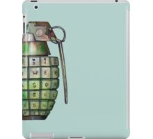 Your Keyboard is Your Weapon iPad Case/Skin