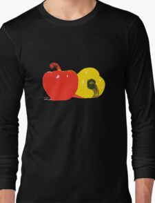 Peppers Graphic Long Sleeve T-Shirt