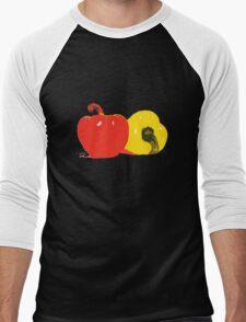 Peppers Graphic Men's Baseball ¾ T-Shirt