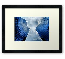 Key Hole Framed Print