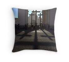 good friday stretch Throw Pillow