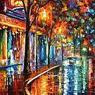 Night Cafe — Buy Now Link - www.etsy.com/listing/217221576 by Leonid  Afremov