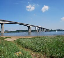 Orwell Bridge by John Newson