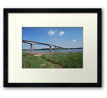 Orwell Bridge Framed Print