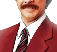 ANCHORMAN - The Legend of Ron Burgundy. Sticker