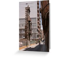 Nothing but facade Greeting Card