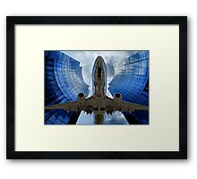 Flying Through The Key Hole Framed Print