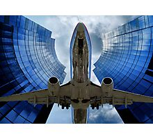 Flying Through The Key Hole Photographic Print
