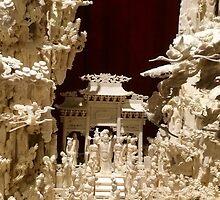 Intricate Bone Carving - China by nativeminnow