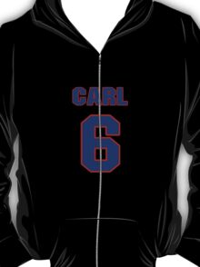 Basketball player Carl McNulty jersey 6 T-Shirt