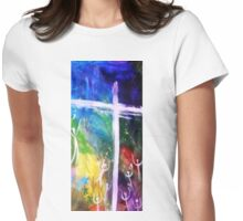 Cross by Gretchen Smith Womens Fitted T-Shirt