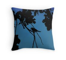 SILHOUTTE Throw Pillow