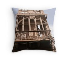 Frontal facade Throw Pillow