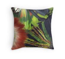 flowers of the ancients Throw Pillow