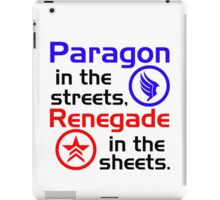 Paragon vs. Renegade iPad Case/Skin