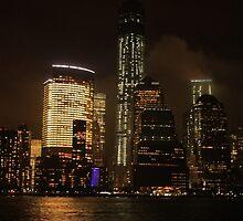Night Manhattan by KukiWho