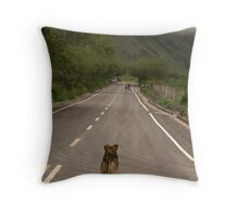 littlest hobo Throw Pillow