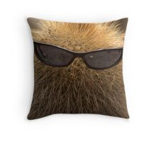 cool cactus Throw Pillow