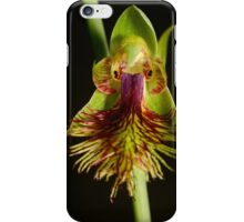 Copper Beard Orchid. iPhone Case/Skin