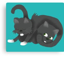 Trigger and Nutsy Canvas Print