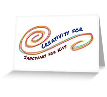 Creativity for Sanctuary for Kids Greeting Card