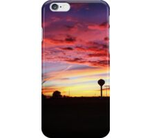 Midwestern Sunset October 2014 iPhone Case/Skin