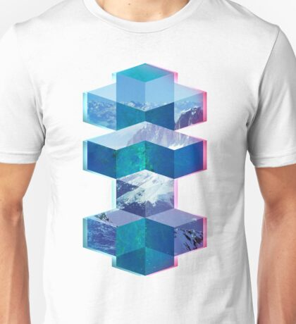 Abstract Cubes Unisex T-Shirt