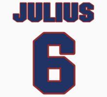 Basketball player Julius Erving jersey 6 by imsport