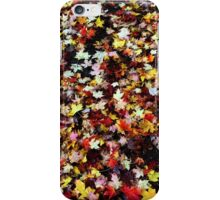 Black Dirt and Leaves iPhone Case/Skin