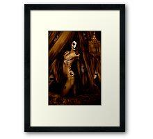 MANNEQUIN II Framed Print