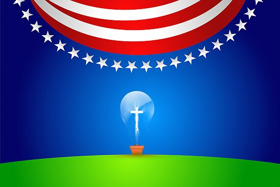 A great idea for the Red, White & Blue. by webart
