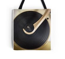 Record Player Throw Pillow  Tote Bag