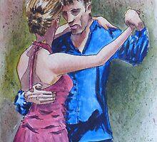 Tango Dancers by jadlart