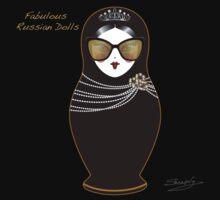 Fabulous Russian Dolls by Elina Sheripova