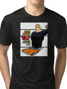 Brock Samson IS MULLET! Tri-blend T-Shirt