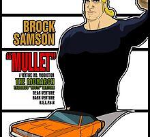 Brock Samson IS MULLET! by Anna Welker