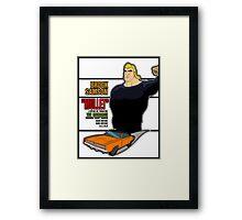 Brock Samson IS MULLET! Framed Print