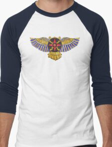 Sun Disk of Assyrian-Babylonia Men's Baseball ¾ T-Shirt