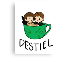Destiel Canvas Print