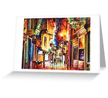In The Streets Of London — Buy Now Link - www.etsy.com/listing/216182031 Greeting Card