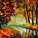 Happy Stream — Buy Now Link - www.etsy.com/listing/155900960 by Leonid  Afremov