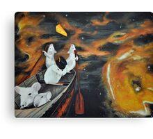 Mice Space Canvas Print