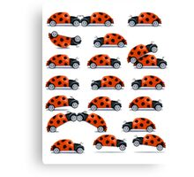 Bug fun Canvas Print