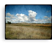 My Country, Uralla, New South Wales Canvas Print