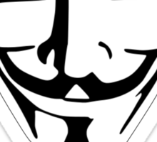 Anonymous: Expect Us Sticker