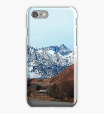 Road To The Top - Mount Whitney iPhone Case/Skin