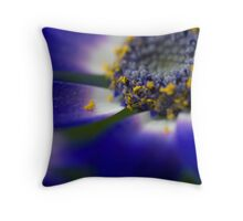 Golden Grain Throw Pillow