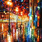 The Tempo Of The Rain — Buy Now Link - www.etsy.com/listing/193556982 by Leonid  Afremov