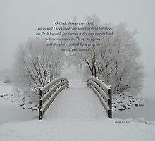 Psalm 63:1 & 2 by RedZenda