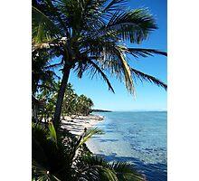 Fijian coastline Photographic Print